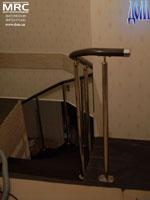 Ограждение проема лестницы