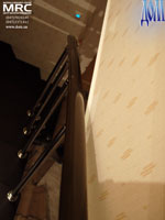 Поручень ограждения лестницы