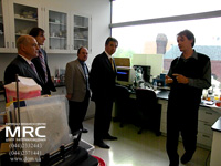 In the laboratory of Engineering Center of A.J. Drexel Nanotechnology Institute