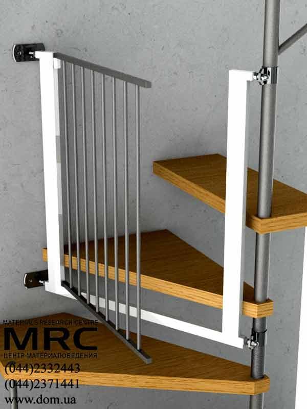 Барьер для ребенка на лестницу своими руками 1005